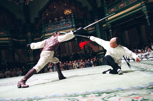 Jet Li vs Anthony De Longis